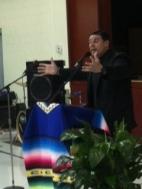 Fr. Rafael, Director of SEPI, gives a keynot address