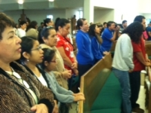 SEPI team give a retreat  to young Encuentro participants