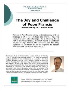 Dr. Tom Ryan flyer