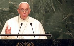 Francis at U.N. 9-25-15