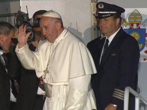 Francis Leaves 9-27-15