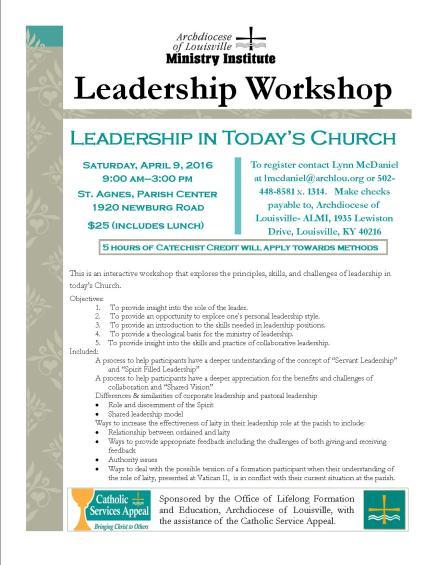 Leadership Workshop-2 4.9.16