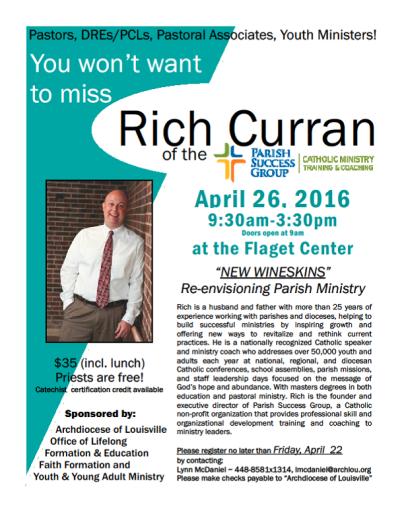 Rich Curran Workshop 4.26.16