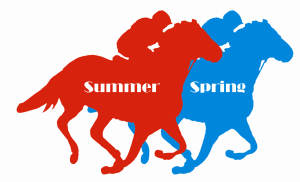 spring and summer horse race